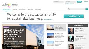 2 degrees sustainability network